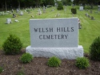 Welsh Hill Cemetery in Granville