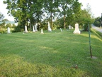 Hancock Cemetery in Liberty Twp.
